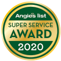 Angie's List 2020 Super Service Award